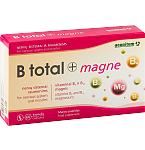 Maisto papildas B total + magne kapsulės N60