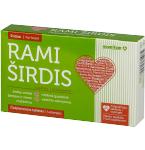Maisto papildas Rami širdis čiulpiamosios tabletės N20