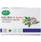 NEURO - 3 forte+ kapsulės N10