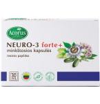 NEURO - 3 forte+ kapsulės N30