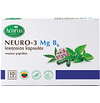 NEURO - 3 Mg B6 kapsulės N10