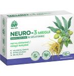 ŠVF NEURO - 3 miegui su melatoninu kapsulės N10