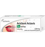 Aciclovir Actavis 50mg/g kremas 5g