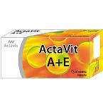 Maisto papildas ActaVit A+E minkštos kapsulės N20