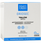 Martiderm Driosec servetėlės - antiperspirantas ir dezodorantas visam kūnui N15