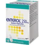 Enterol 250mg kietos kapsulės N10