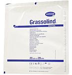 Tvarstis Grassolind neutral 20x20cm steril. tinklelinis impregnuotas neutralaliu nemedikamentiniu tepalu N1