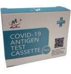 AgiAccu COVID - 19 antigenų nustatymo seilėse testo rinkinys
