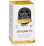 ROYAL GREEN Vitaminas D3 300TV tabletės N120