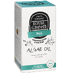 ROYAL GREEN Algae Oil Dumblių aliejus Omega - 3 DHR 200mg kapsulės N60