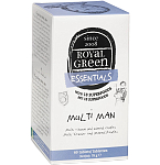 ROYAL GREEN Multi Man multivitaminai vyrams tabletės N60