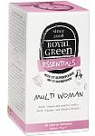 Maisto papildas ROYAL GREEN Multi Woman multivitaminai moterims tabletės N60