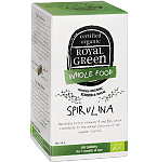 ROYAL GREEN BIO Spirulina 1000mg tabletės N60