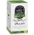 ROYAL GREEN BIO Spirulina 1000mg tabletės N60