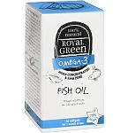 Maisto papildas ROYAL GREEN Žuvų taukai Omega - 3 79% kapsulės N30