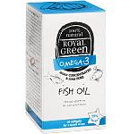 ROYAL GREEN Žuvų taukai Omega - 3 79% kapsulės N30