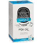 Maisto papildas ROYAL GREEN Žuvų taukai Omega - 3 79% kapsulės N60