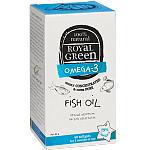 ROYAL GREEN Žuvų taukai Omega - 3 79% kapsulės N60