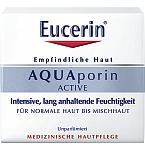 Eucerin drėkinamasis veido kremas normaliai/mišriai odai AQUAporin Active Light 50ml 69779