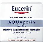 Eucerin AQUAporin Active Rich drėkinamasis veido kremas sausai odai 50ml 69780