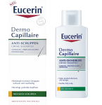 Eucerin kreminis šampūnas nuo pleiskanų/sausai galvos odai DermoCapillaire 250ml 69655