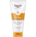 Eucerin gelinis kūno kremas nuo saulės DRY TOUCH SPF30 200ml