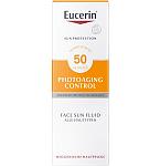 Eucerin Sun fluidas nuo saulės ir fotosenėjimo SPF50 50ml