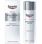Eucerin Hyaluron Filler dieninis kremas sausai odai SPF15 50ml 63485
