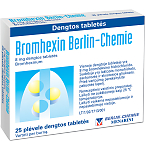 Bromhexin Berlin-Chemie 8mg dengtos tabletės N25