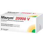Mezym 20 000 V skrandyje neirios tabletės N100