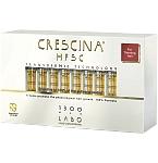 CRESCINA TRANSDERMIC RE - GROWTH HFSC 100% FORMULĖ 1300 VYRAMS N20