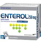 Enterol 250mg kietosios kapsulės N30
