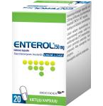 Enterol 250mg kietosios kapsulės N20