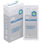 20 MILLIARDS probiotic+prebiotic miltekiai N7