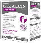 Maisto papildas bioKALCIS 1200mg + vitaminas K milteliai geriamajam tirpalui ruošti N15