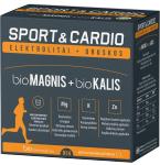 Maisto papildas bioMagnis 350mg+bioKalis 350mg Sport&Cardio milteliai N14