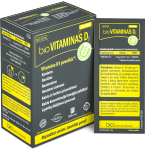 bioVITAMINAS D3 milteliai geriamajam tirpalui N20