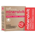 mineralvit CARDIO milteliai pakeliuose N20