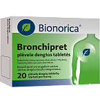 Bronchipret plėvele dengtos tabletės N20