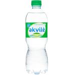 Natūralus mineralinis vanduo Akvilė 0.5l lengvai gazuotas PET