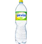 Stalo vanduo Akvilė su citrinos aromatu 1.5l lengvai gazuotas PET