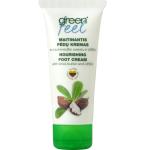 GREEN FEELS kremas pėdoms intensyviai maitinantis su taukmedžio sviestu ir šlapalu 75ml