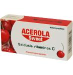 Maisto papildas Acerola Sweet tabletės N30 (lietuviška pakuotė)