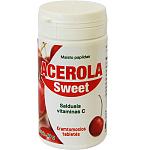 Maisto papildas Acerola Sweet tabletės N90