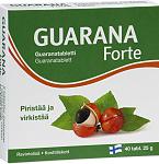 Maisto papildas Guarana Forte tabletės N40