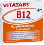 Maisto papildas Vitatabs B12 Methylcobalamin 1000 tabletės N60