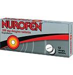 Nurofen 200mg dengtos tabletės N12