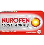 Nurofen Forte 400mg dengtos tabletės N12