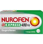 Nurofen Forte Express 400mg dengtos tabletės N12