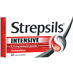 Strepsils Intensive 8.75mg kietosios pastilės N24